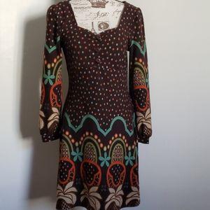 Anthropologie Aryeh Retro Sweater Dress